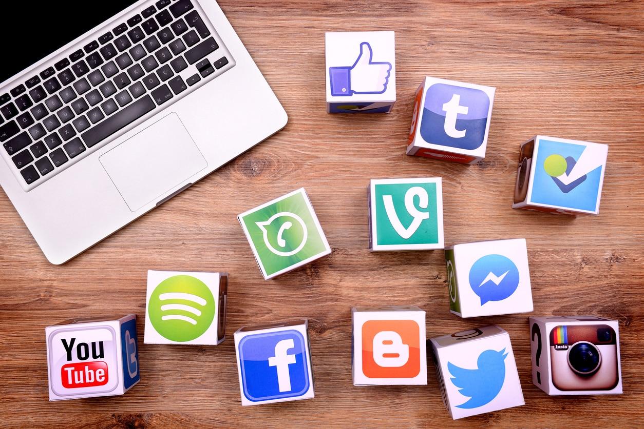 recurso - redes sociales - cubes