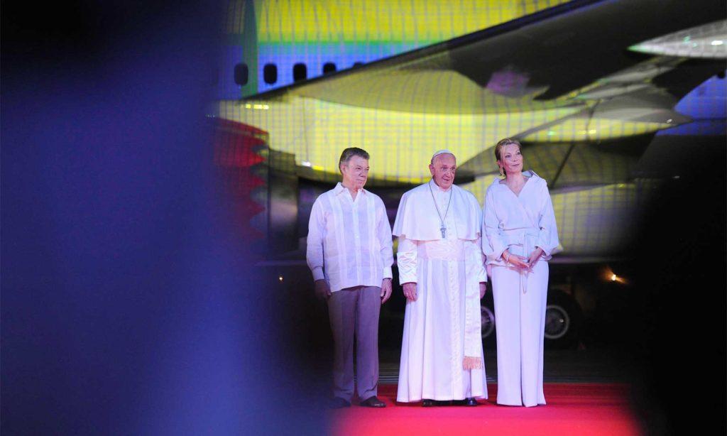 Despedida del Papa en Cartagena