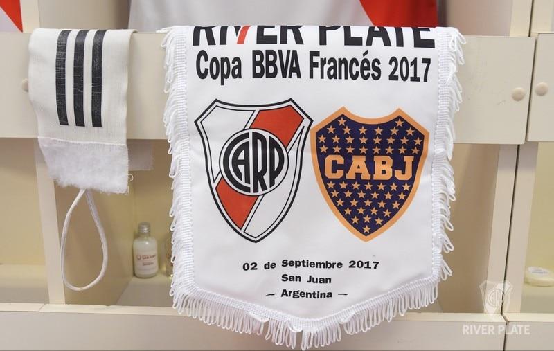 Banderín Copa BBVA Francés 2017