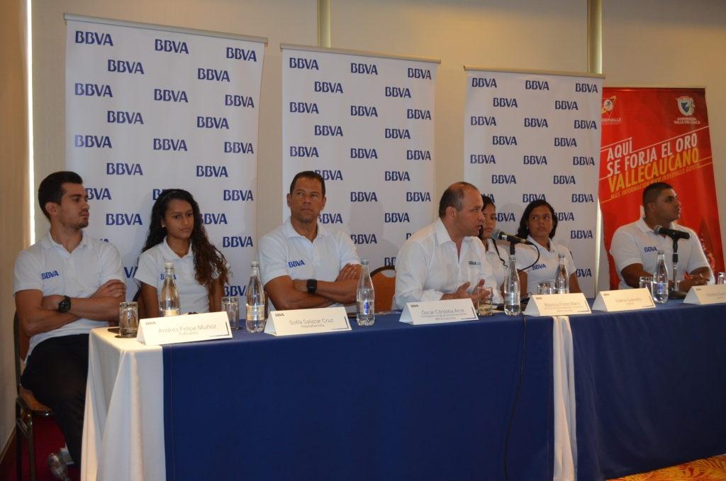 fotografia de Patrocinio BBVA deportistas Valle del Cauca