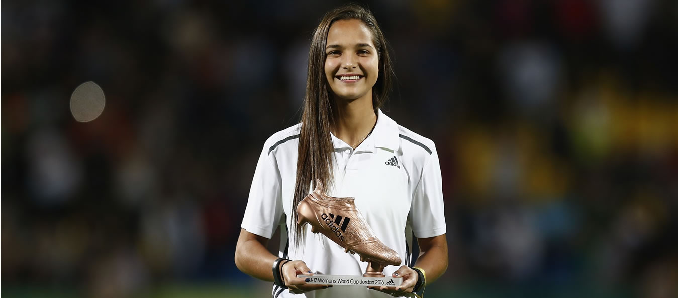 Deyna Castellanos, jugadora Vinotinto