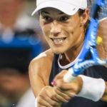 Garbiñe Muguruza en el Wuhan Open