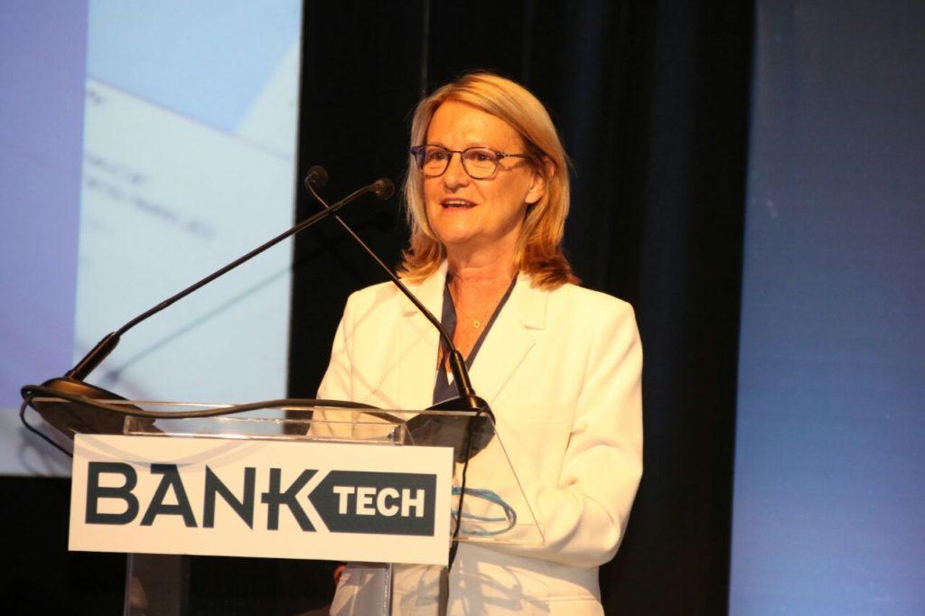 Gloria Sorensen, economista jefe BBVA Francés en Bank Tech 2017