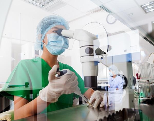 Imagen de Longevidad, avances científicos, investigación, laboratorio