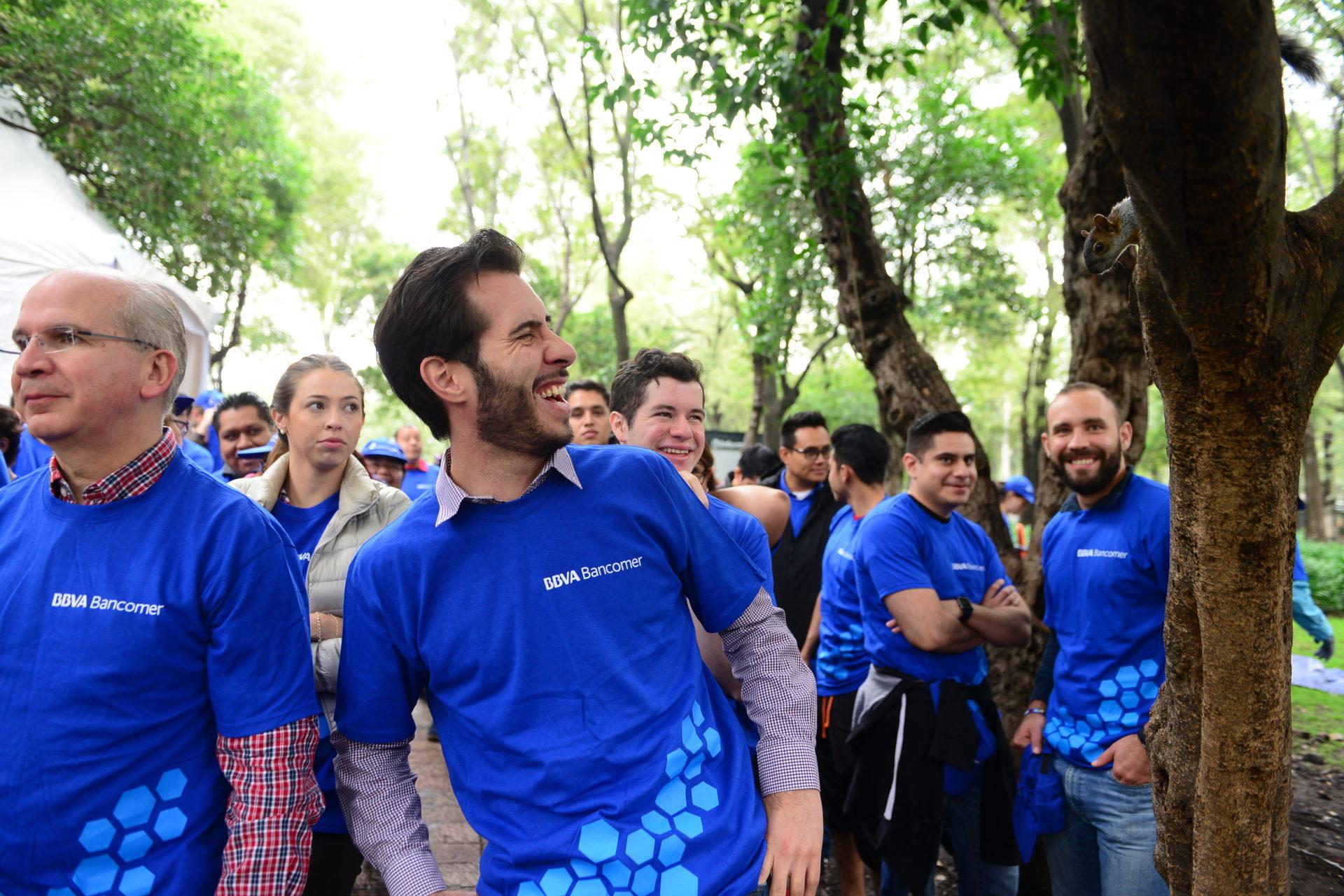 Jornada Medioambiental Bancomer Bosque de Chapultepec 2017