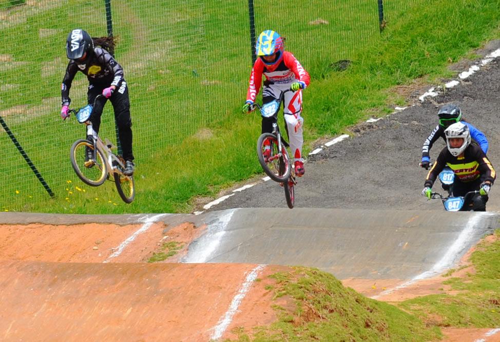 fotografía de María Camila Diosa bicicrosista BBVA