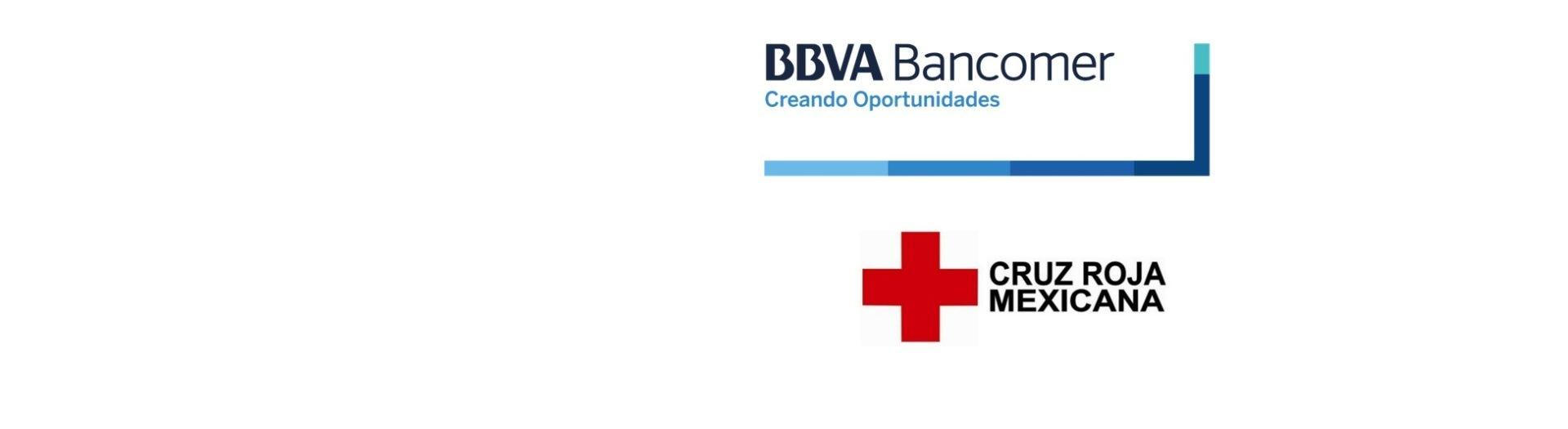 Cruz Roja Mexicana y Bancomer