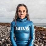 Sofía Gómez, apneista patrocinada por BBVA