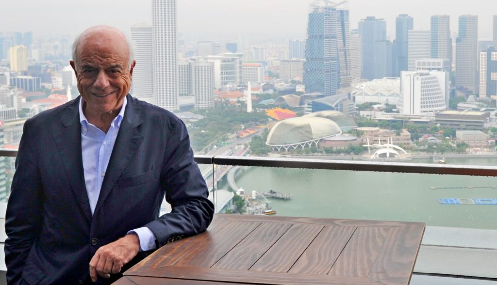 Francisco González en Singapur