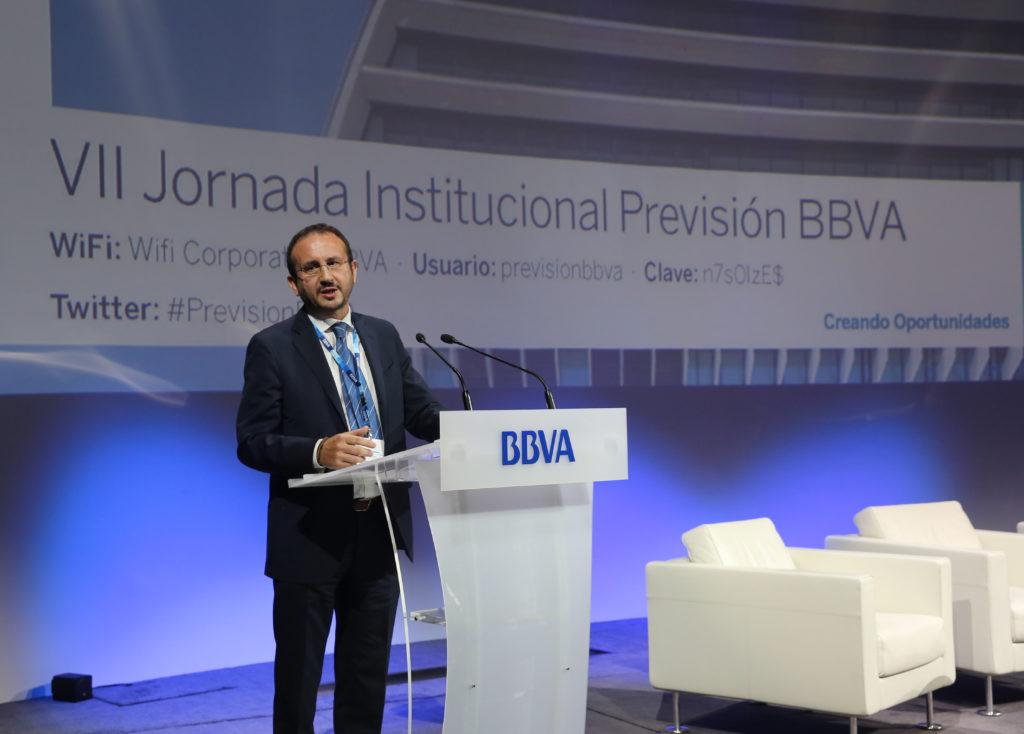 Rafael Verástegui, director de Previsión Colectiva de BBVA Seguros