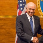 Francisco Gonzalez_presidente_BBVA_alcalde_Houston_Harvey_BBVA_Compass_22_9_17
