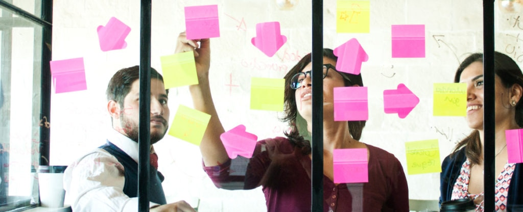 Imagen de Start ups innovación, post it