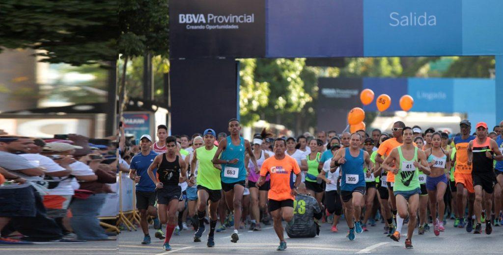Carrera Caminata BBVA Provincial 2017