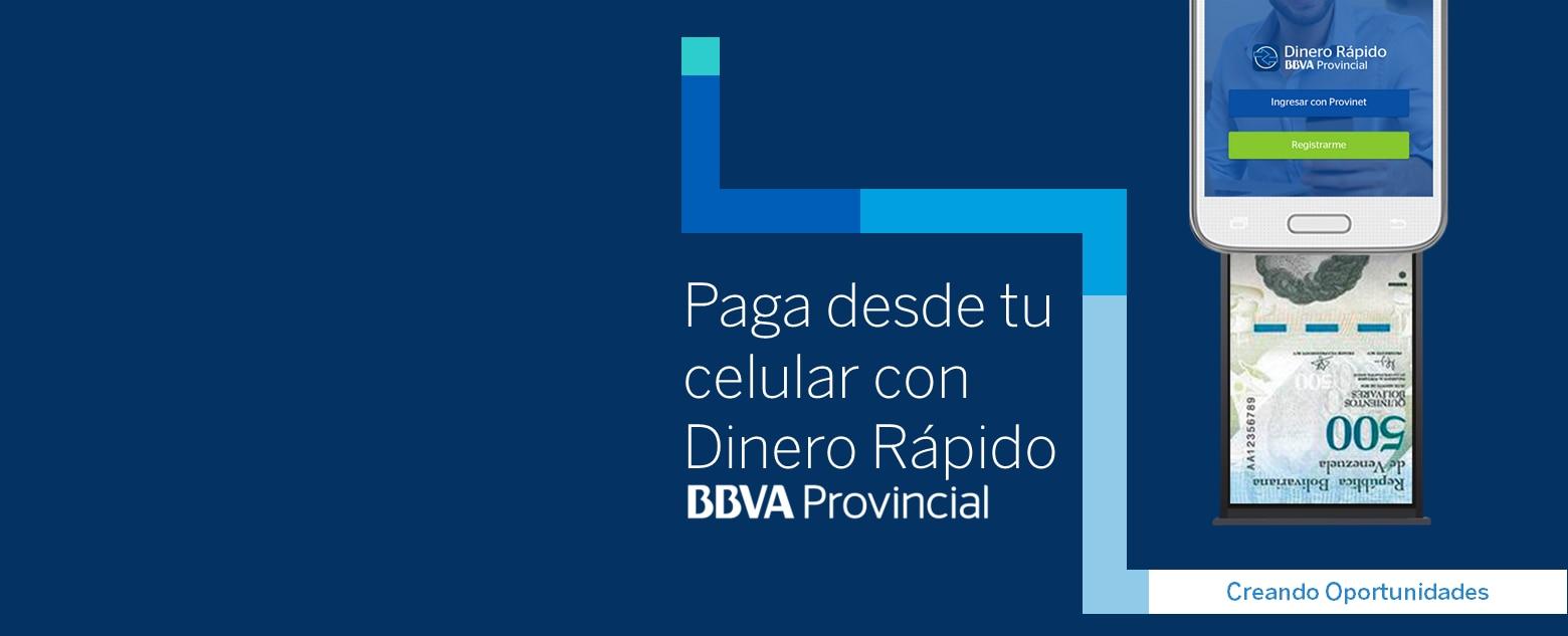 Dinero Rápido BBVA Provincial