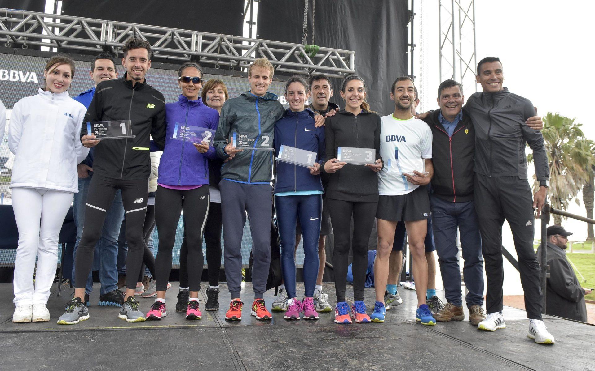 Ganadores Carrera 7K BBVA Uruguay