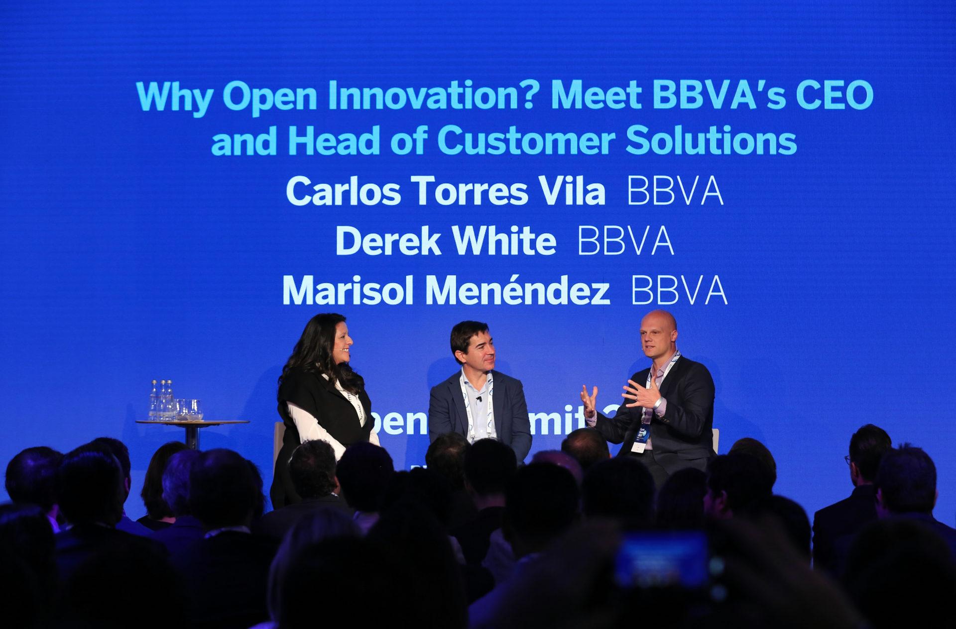 BBVA - Carlos Torres Vila - Derek White - Open Summit
