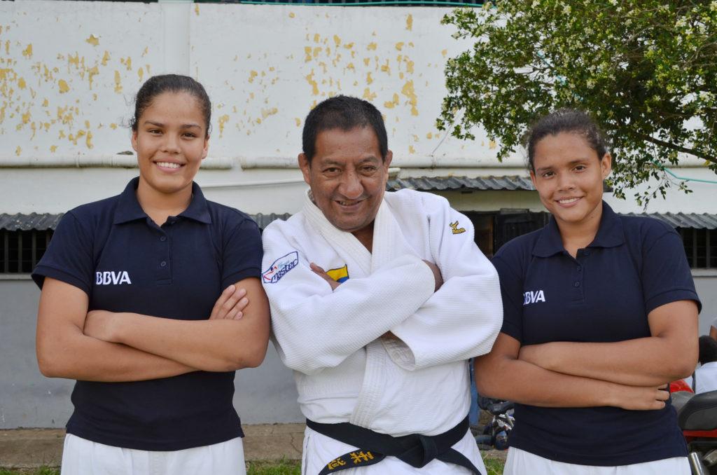 fotografía de judocas-guerrero hueco olímpico jamundí