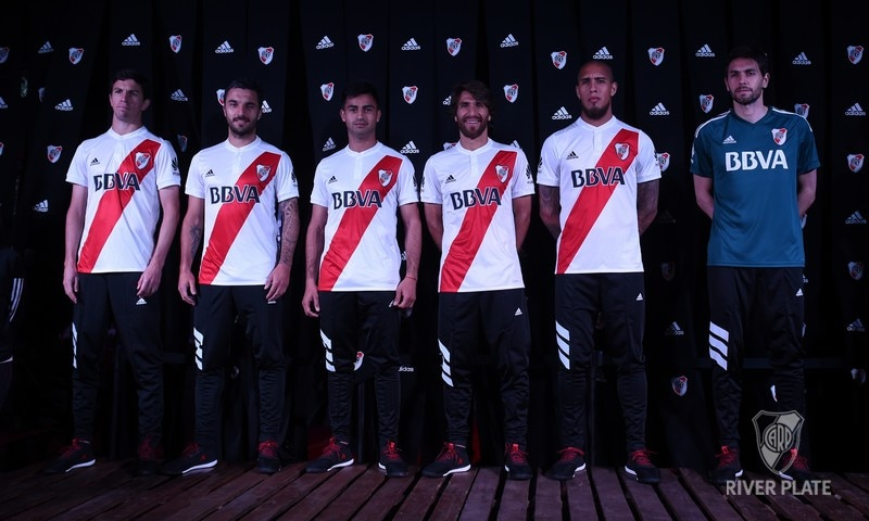 River Plate presentó su camiseta Temporada 2017/18