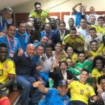 fotografía de seleccion futbol de Colombia