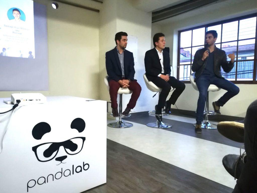 fotografía de Sergio Zuñiga, Santiago Rojas y Sebastián Caro en Panda Lab