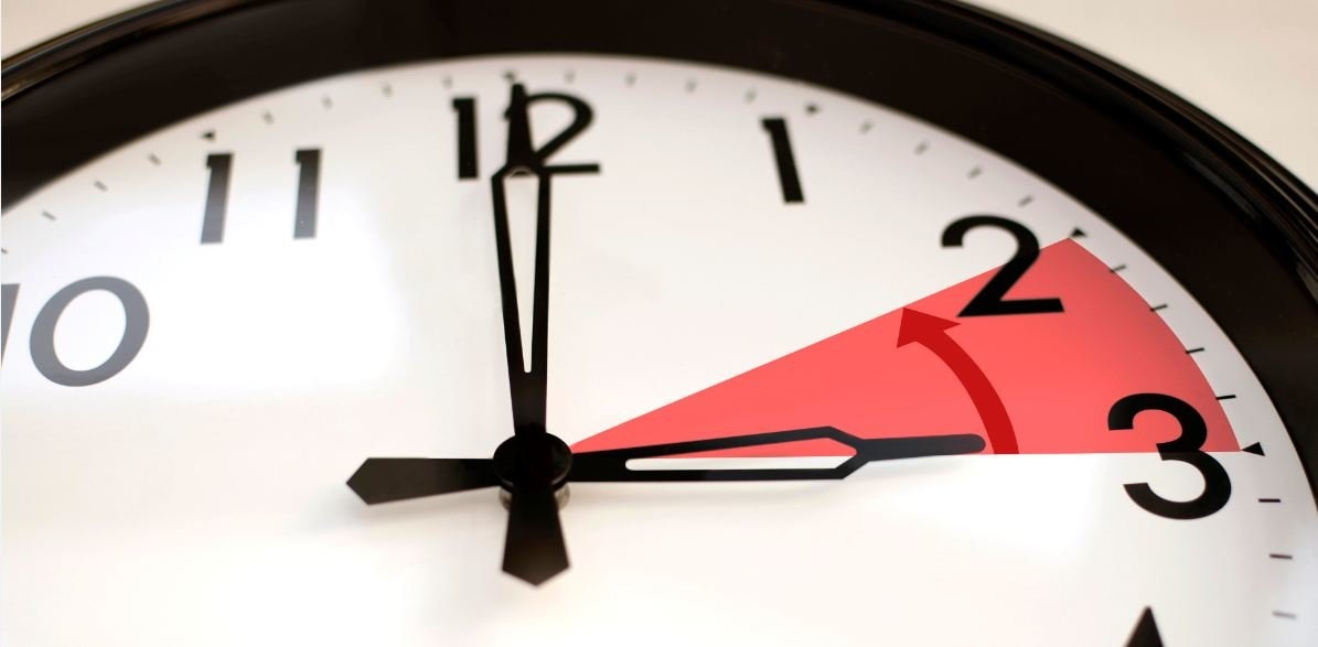 Resultado de imagen de cambio de hora