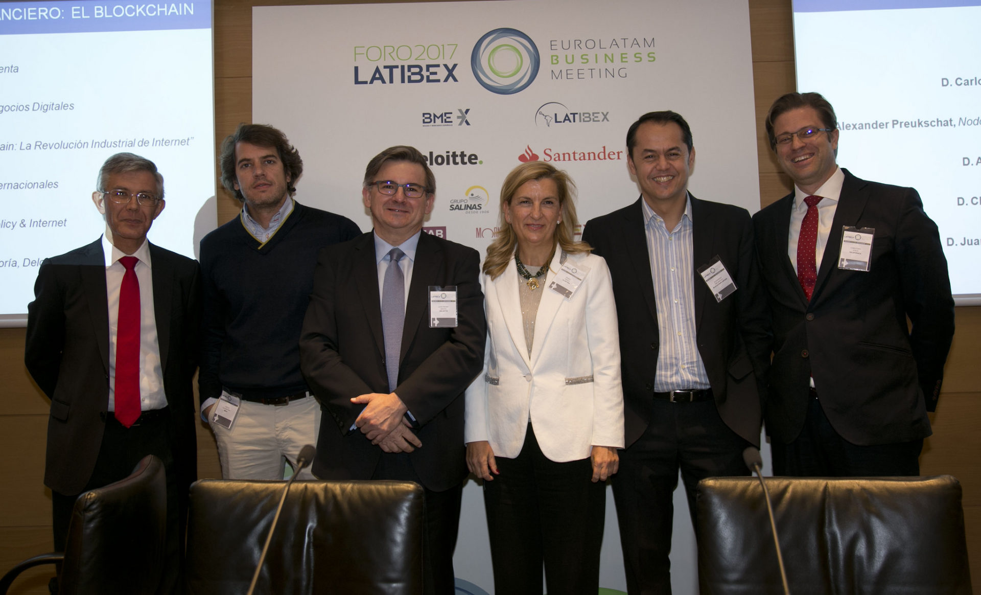 Blockchain durante el Foro Latibex