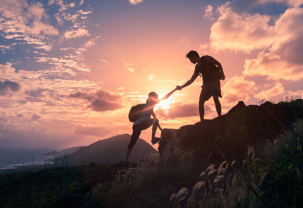 Recurso, montaña, aventura, ocio