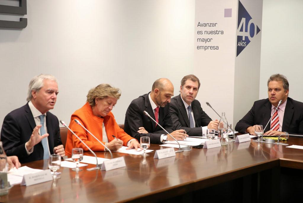 Imagen de 'Encuentro Empresarial España-Argentina: Argentina abierta' que tuvo lugar en la sede de la CEOE en Madrid el pasado 8 de noviembre de 2017