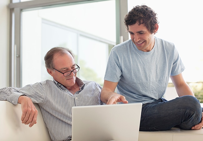 Imagen de Pensiones Jubilación recurso padre e hijo