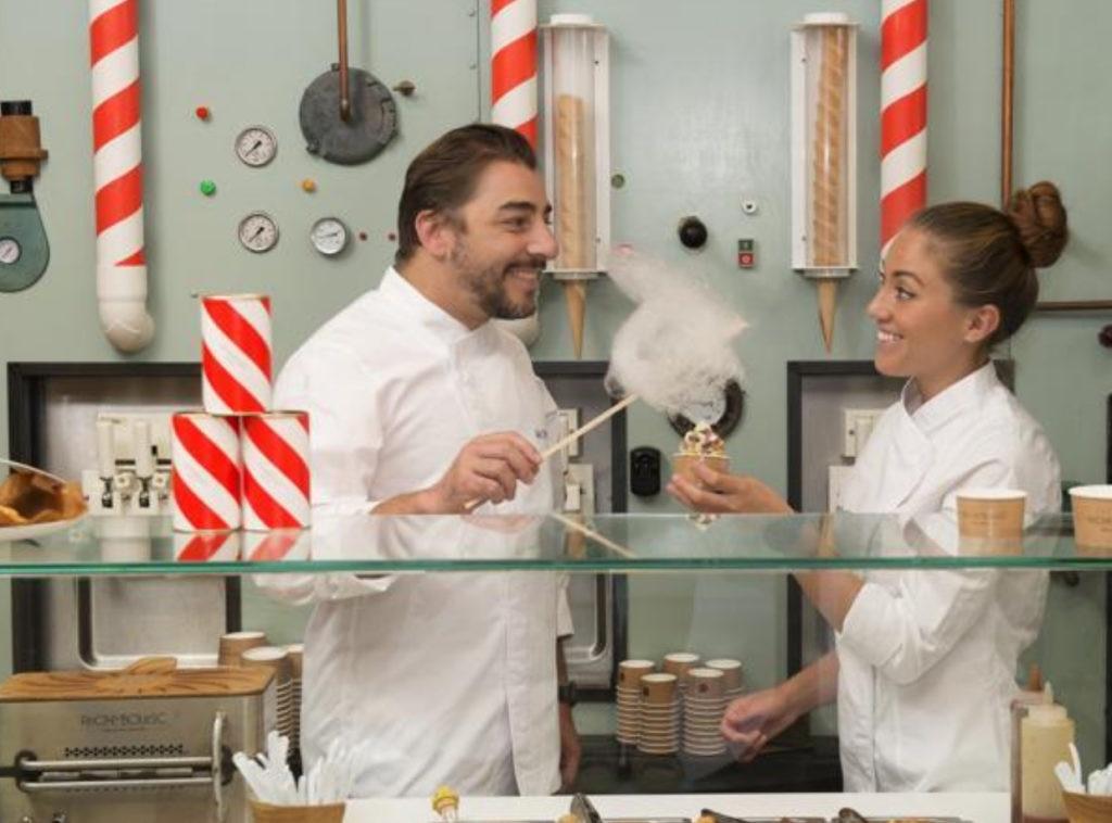 Jordi Roca y Alejandra Rivas en Rocambolesc