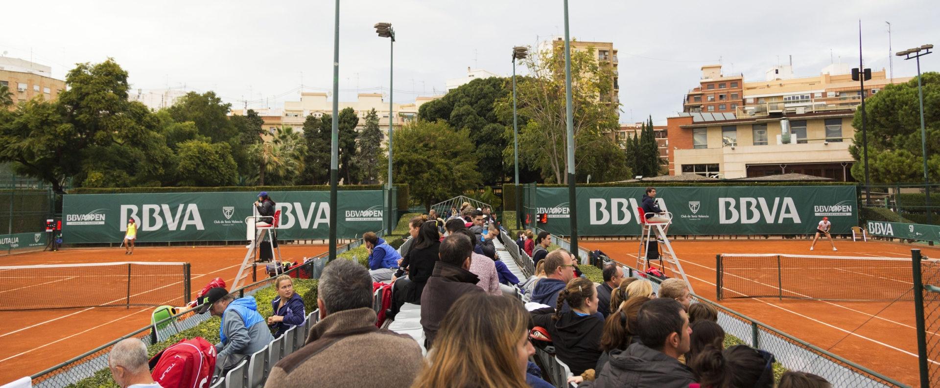 Pistas del BBVA Open Ciudad de Valencia