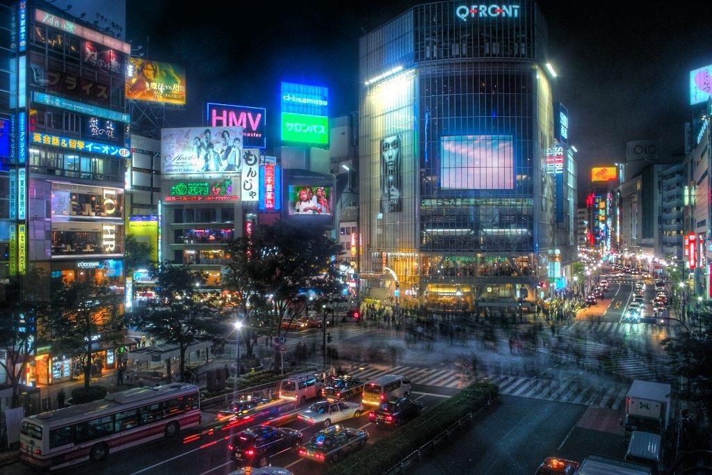Shibuya-tokyo-ciudad-cyberpunk-BBVA