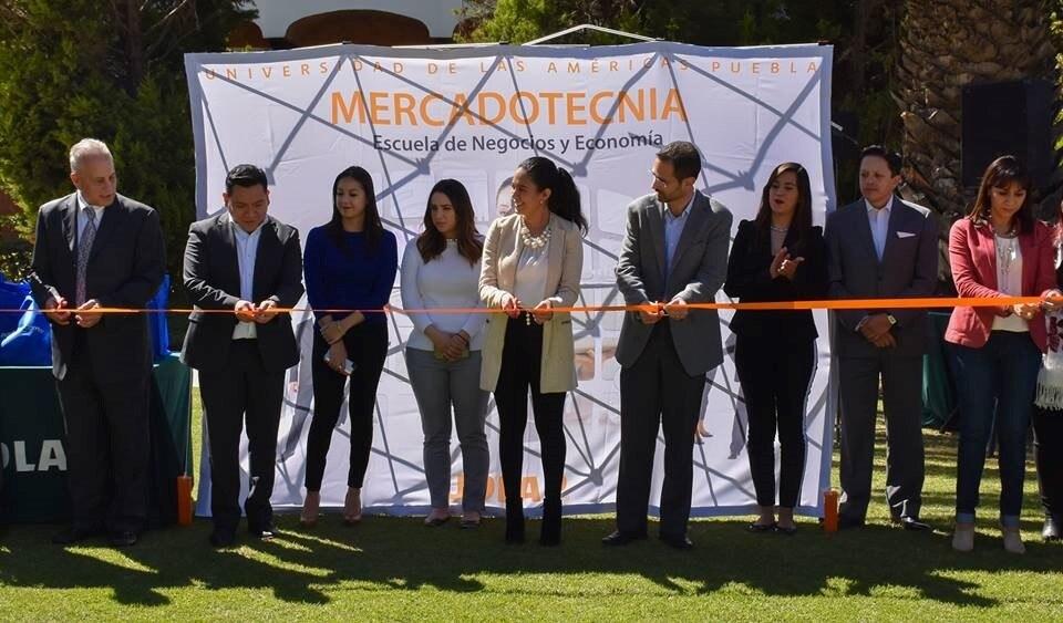 inauguración Feria de Innovación y creatividad UDLAP BBVA Bancomer