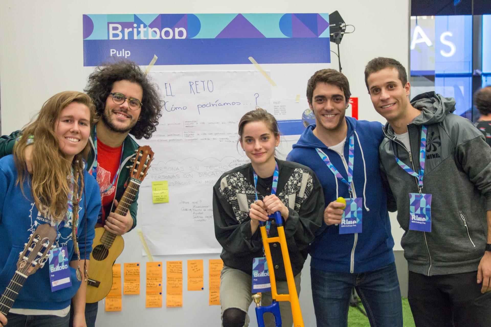 BlueBBVAChallenge Madrid