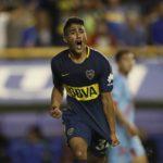 Guido Vadalá festeja su gol