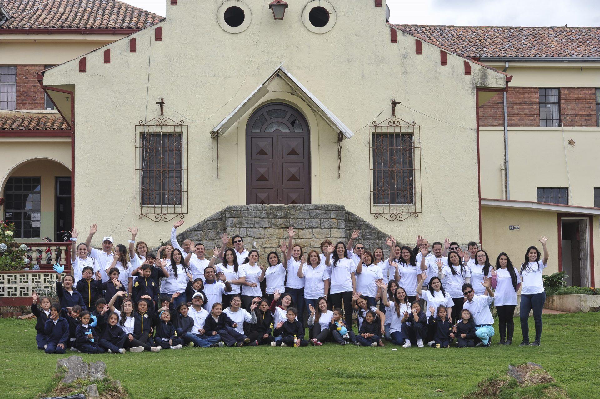 fotografía de Donación Internado Sibaté por BBVA Seguros y Afiliados_122