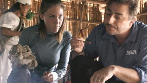 Jordi Roca y Alejandra Rivas en Colombia