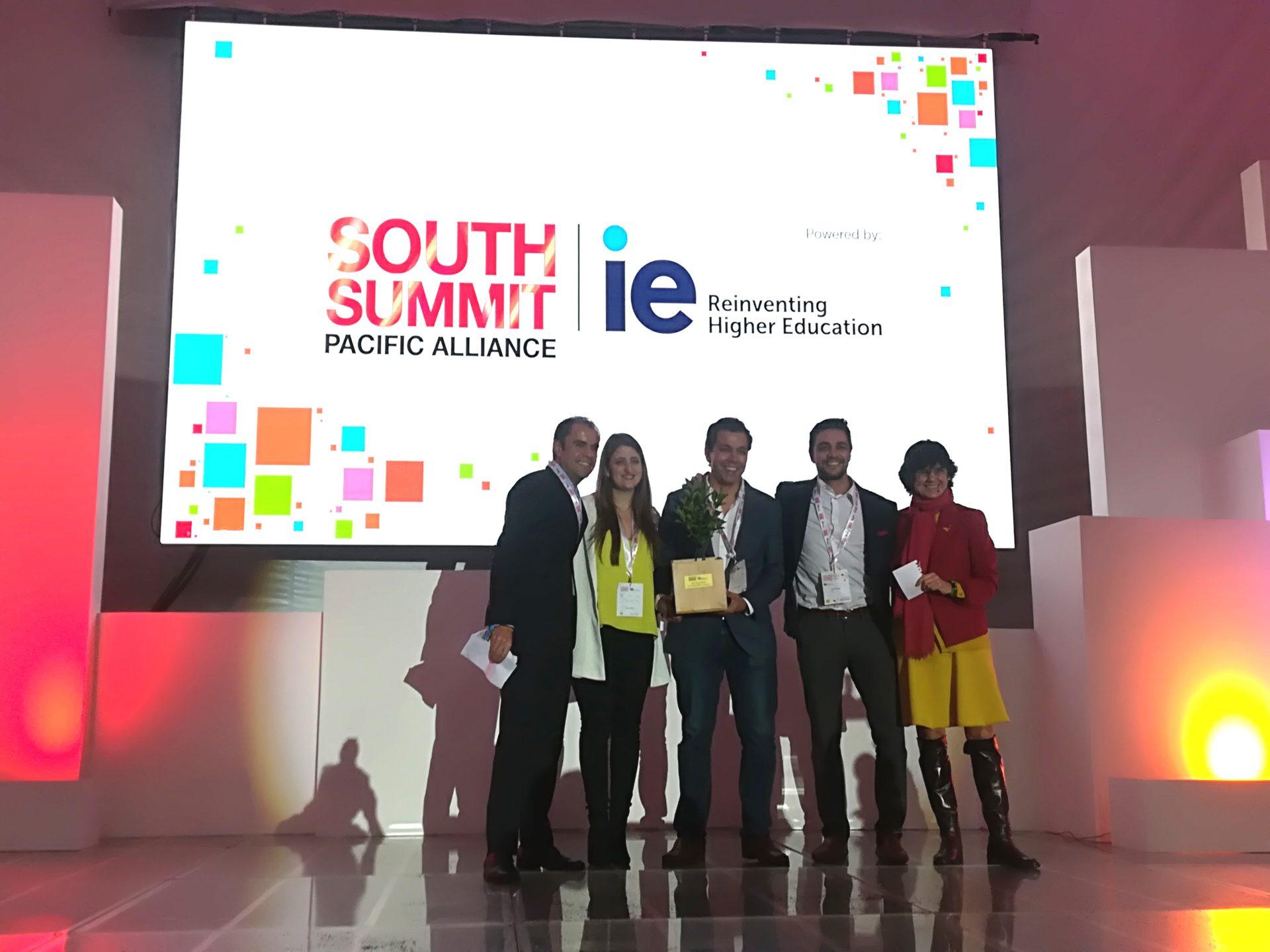 ftografía de Leal, la startups colombiana que ganó en la categoría de mejor equipo