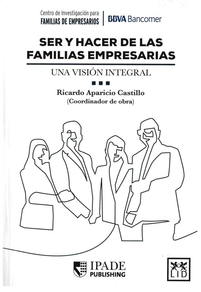 Portada Libro Ser y hacer de las familias empresarias