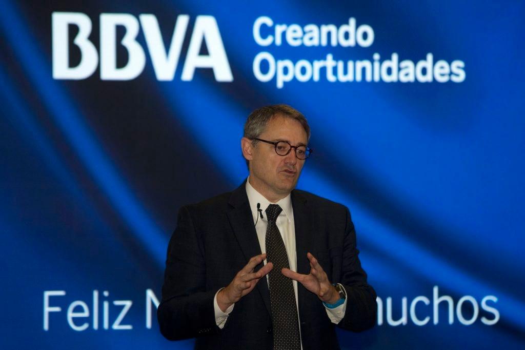 Fotografía de Oscar Cabrera Izquierdo Entrega de Resultados BBVA Colombia