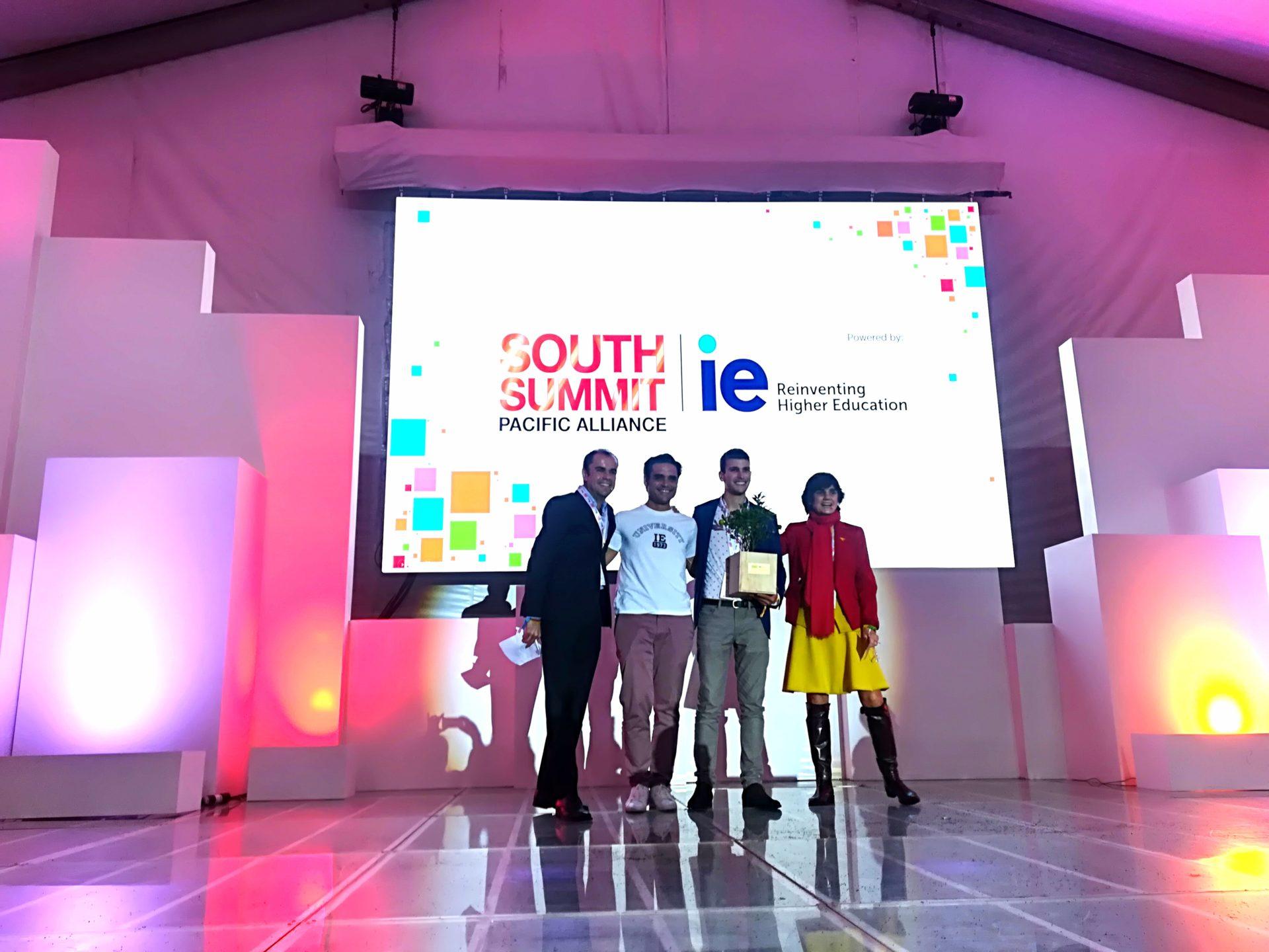 Fotografía de SmartFES la startup chileana ganadora absoluta del South Summit Alianza del Pacífico