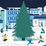 apertura felicitación Navidad