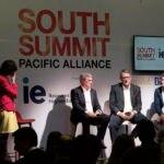 fotografía de Óscar Cabrera presidente de BBVA Colombia en South Summit Alianza del Pacífico