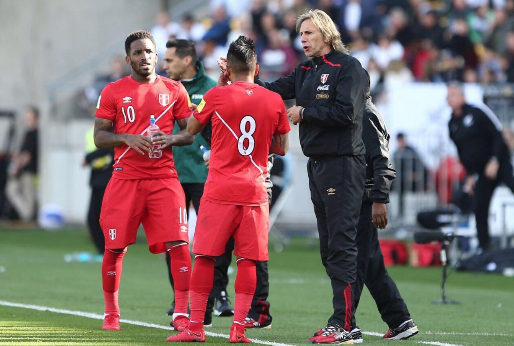 Fotografía de Ricardo Gareca, técnico de la selección peruana de fútbol.