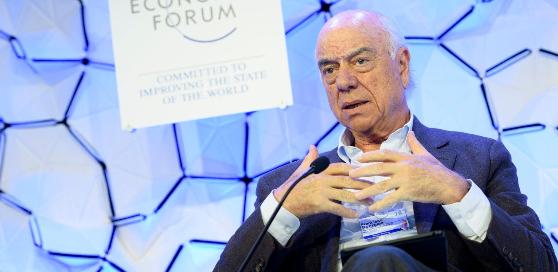 World-economic-forum-davos-Francisco-Gonzalez-BBVA