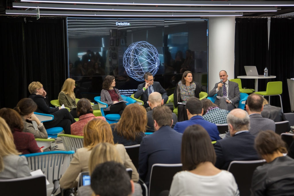 BBVA participa en la presentación del informe de Deloitte 2030 Purpose
