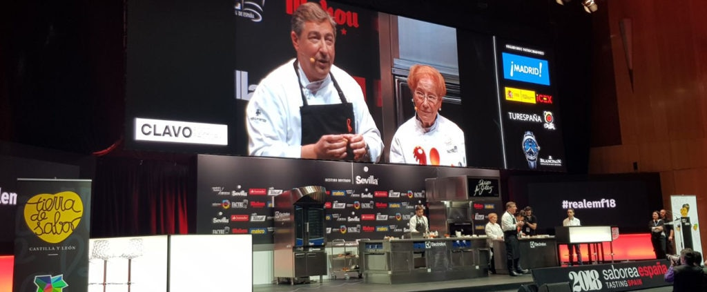 Joan Roca y Montserrat Fontané en Madrid Fusión 2018 BBVA