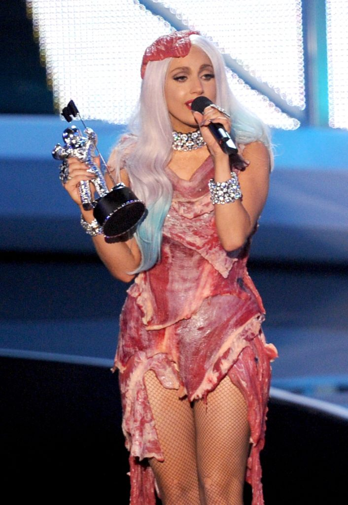 Lady Gaga en los Mtv Video Music Awards 2010-bbva
