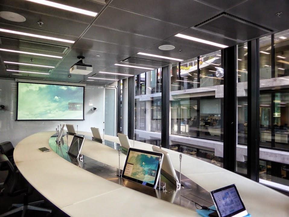 Sala de reunión Ciudad BBVA