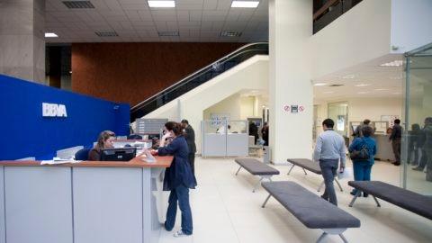 3. Interior of Office, BBVA Colombia